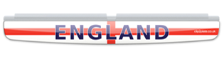 Clip On Flag - England